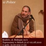 Tripurari Swami w Polsce