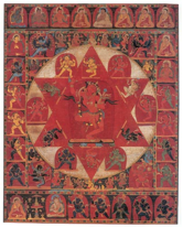 buddyjska jantra