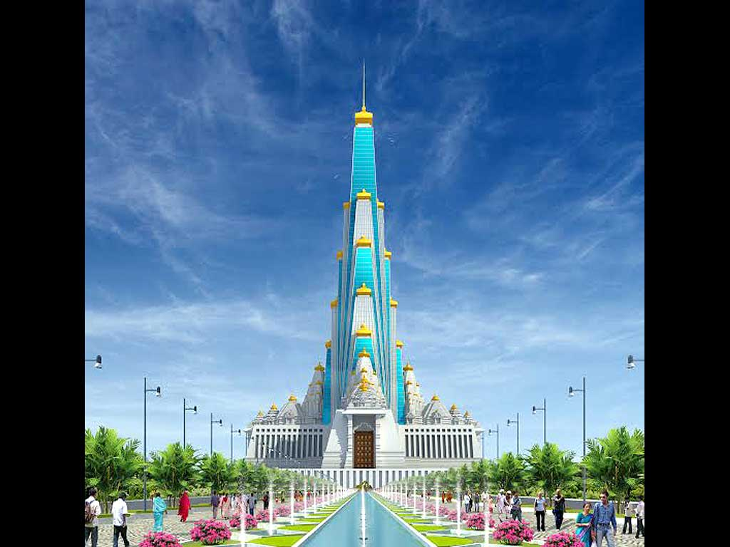Latest Chandrodaya Mandir Mathura Wallpapers for free download