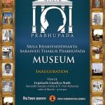 Mayapur: Otwarcie muzeum Srila Bhaktisiddhanty Saraswatiego Thakury Prabhupady