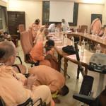 Mayapur: Burza mózgów na spotkaniu Gaudija Saraswat