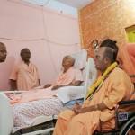 Jayapataka Maharadźa odwiedza Bhakti Bhalabha Tirthe Maharadźa