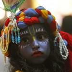 Hindusi licznie obchodzą Janmasthami, święto narodzin Kryszny