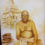Bhaktiwinod Thakur przed yoga pith