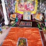 Odcisk stopy Radharani w Warszanie