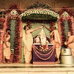 Radhasthami. Abiszek w Sri Radha-Shyamsundar Mandir