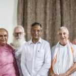 Spotkanie Shailja Kanta Mishra  z obcokrajowcami zamieszkałymi we Wryndawanie